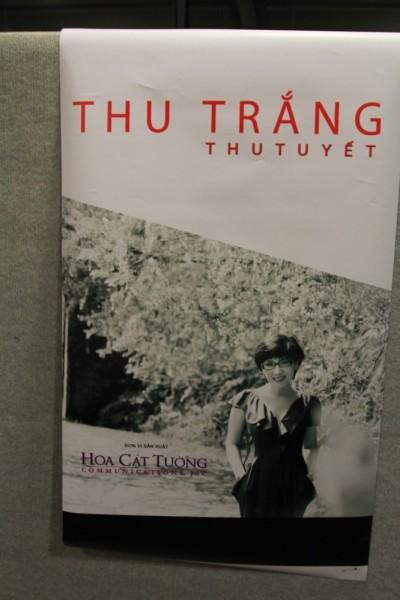 Sự kiện ra mắt Thu Trắng tại Đồng Dao, Việt Nam (2014)